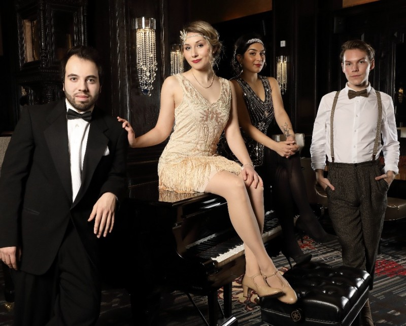 Vocally Aligned: Speakeasy Music from Prohibition and The Great Depression