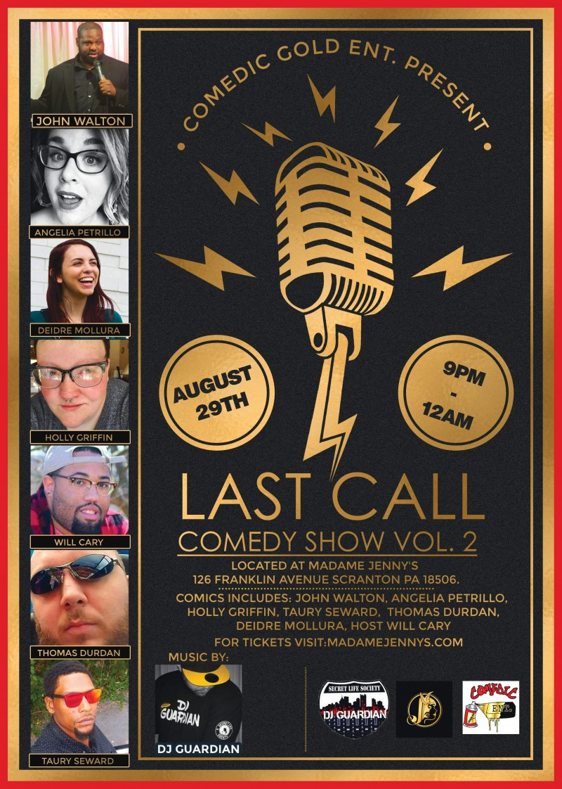 Last Call Comedy Show – Volume 2
