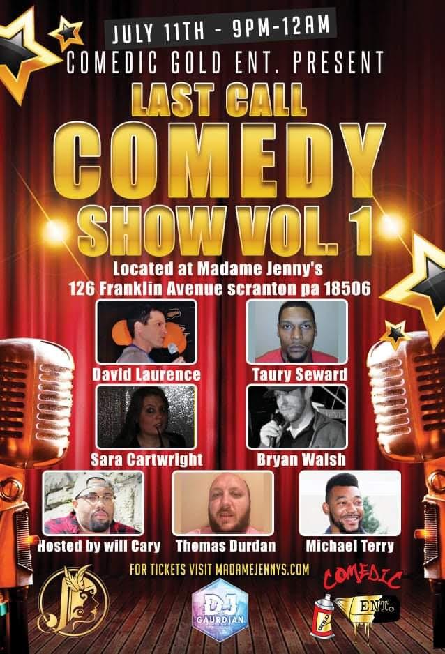 Last Call Comedy Show – Volume 1
